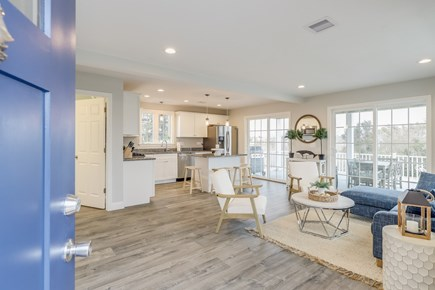 Yarmouth Cape Cod vacation rental - Open concept living room/kitchen