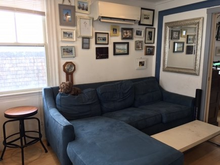 Provincetown Historic District Cape Cod vacation rental - This Jennifer Convertible is a Queen with a memory foam mattress.