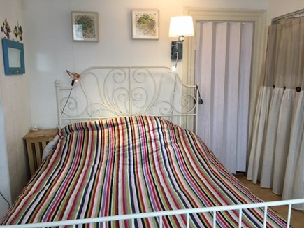 Provincetown Historic District Cape Cod vacation rental - Queen bed, room is private, full bath adjacent.