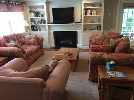 South Yarmouth Cape Cod vacation rental - Open concept home with HDTV & remote controlled gas fireplace