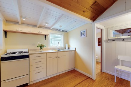 Harwichport Cape Cod vacation rental - Kitchen set up with all you need for cooking!