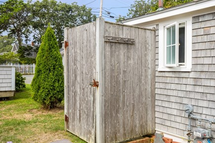 Harwichport Cape Cod vacation rental - Outdoor shower for after the beach!
