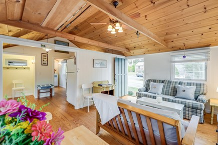 Harwichport Cape Cod vacation rental - Living room area.