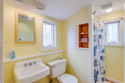 Harwichport Cape Cod vacation rental - Bathroom with indoor shower (there is also an outdoor shower).