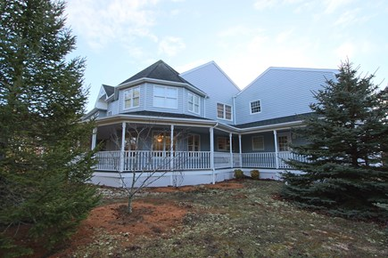 Truro Cape Cod vacation rental - Front of House with Wrap around Porch. New Photos to come soon.