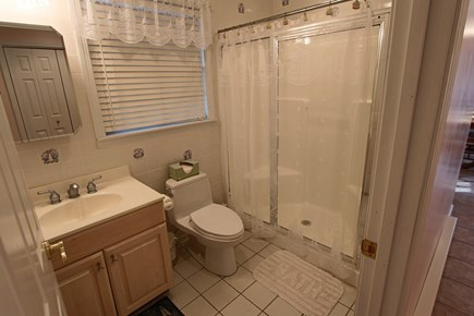 Truro Cape Cod vacation rental - First Floor Guest Bathroom with Shower