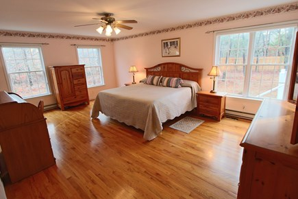 Truro Cape Cod vacation rental - Primary Bedroom, King Bed, with Full private Bath