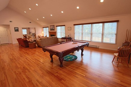 Truro Cape Cod vacation rental - Game Room with Extra Living Space