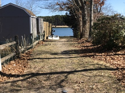 East Falmouth close to Washbur Cape Cod vacation rental - Access point !!! Launch a kayak, canoe, or dinghy !!!