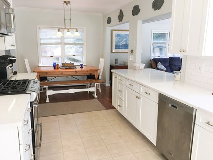 Cotuit- near Loop Beach Cape Cod vacation rental - Kitchen- gourmet, with all amenities, can seat 16 people