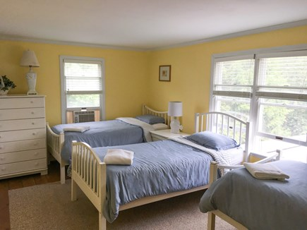 Cotuit- near Loop Beach Cape Cod vacation rental - Yellow Rm- 3 Twin beds; Blue Room 5 beds;Lilac-Rm-queen,