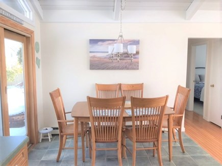 East Falmouth Cape Cod vacation rental - Eat in kitchen, table expands for 8.