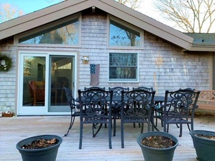 East Falmouth Cape Cod vacation rental - Outdoor dining.