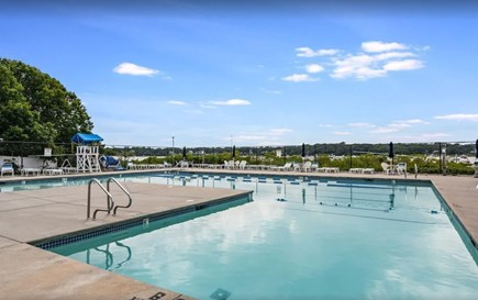 East Falmouth Cape Cod vacation rental - Large pool