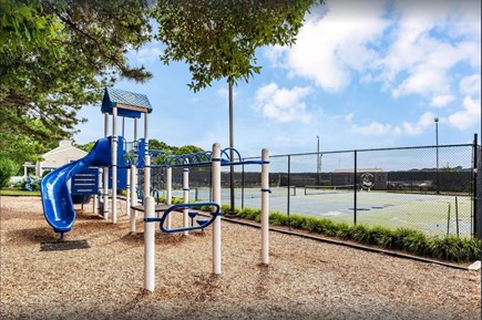 East Falmouth Cape Cod vacation rental - Playground and Tennis courts