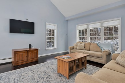 Orleans Cape Cod vacation rental - Comfortable seating for cozy movie nights, smart TV with cable