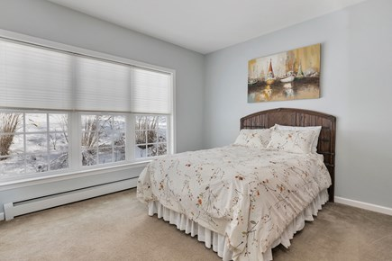Orleans Cape Cod vacation rental - First floor queen bedroom with armoire