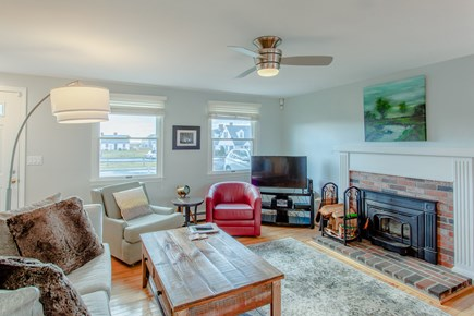 Truro Cape Cod vacation rental - Plush pillows, comfy sofa, cable TV, for enjoying Cape evenings!