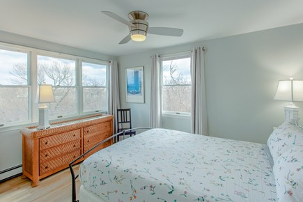 Truro Cape Cod vacation rental - Water views from this bedroom