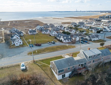 Truro Cape Cod vacation rental - Aerial views of the ocean over to Provincetown