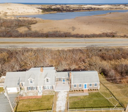 Truro Cape Cod vacation rental - Lake views out the back of the house