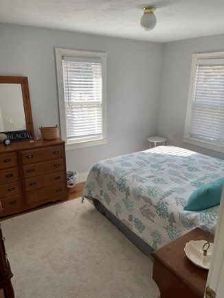 Falmouth, Maravista Cape Cod vacation rental - Master bedroom with Queen bed and views of the pond.