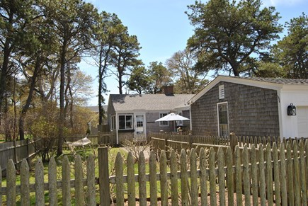 West Chatham Cape Cod vacation rental - Fenced in area.  Great for kids and pets.