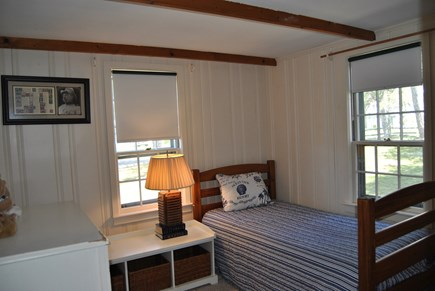 West Chatham Cape Cod vacation rental - This is the bedroom next to the bathroom with the bathtub.