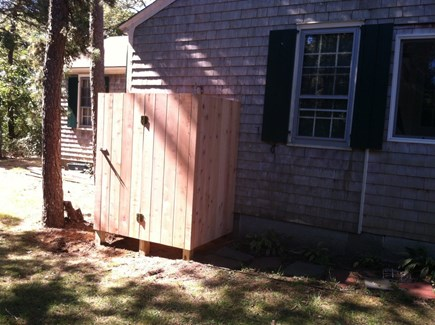 West Chatham Cape Cod vacation rental - Outdoor shower - a must!