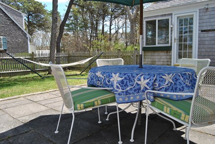 West Chatham Cape Cod vacation rental - Nothing like a picnic outside with or without the umbrella.