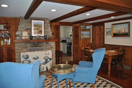 West Chatham Cape Cod vacation rental - This is the Great Room again from the other direction.