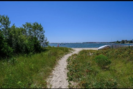 West Yarmouth Cape Cod vacation rental - Sandy beach path
