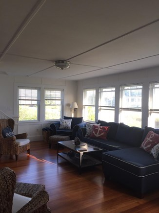 West Yarmouth Cape Cod vacation rental - Sun-soaked living room