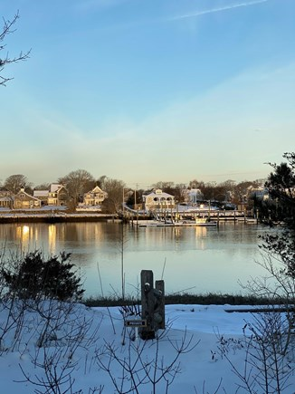 Bass River, West Dennis Cape Cod vacation rental - Wheatfield Lane view on a calm morning