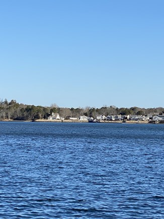 Bass River, West Dennis Cape Cod vacation rental - Tranquil view of Bass River from your private Bluff