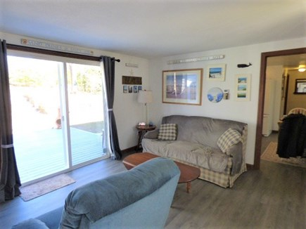 Yarmouthport Cape Cod vacation rental - Family room with TV