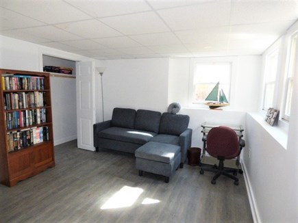 Yarmouthport Cape Cod vacation rental - Lower lever finished office