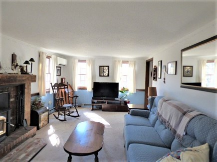 Yarmouthport Cape Cod vacation rental - Large living room with TV