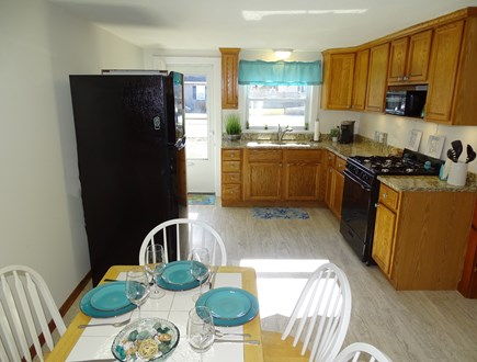 Yarmouth Cape Cod vacation rental - Updated kitchen with new fridge, oven, microwave, coffee maker