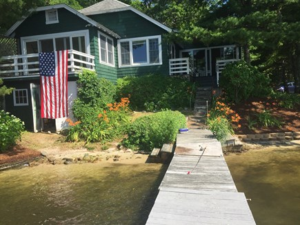 Wareham MA vacation rental - View from the pier.