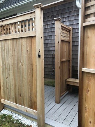 Mashpee Cape Cod vacation rental - New Private Outdoor Shower  (A must after a day at the beach)