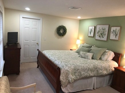 Mashpee Cape Cod vacation rental - Master Bedroom Oasis (King) with TV on 2nd floor