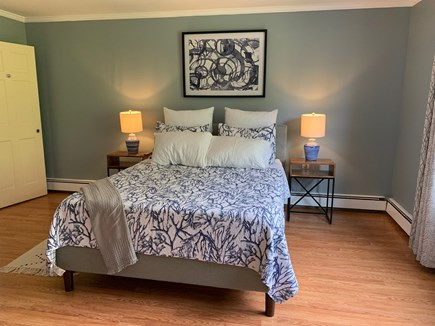 Osterville Cape Cod vacation rental - Master Bedroom with ensuite bathroom. Bed size=queen