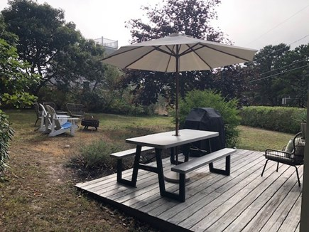 Chatham Cape Cod vacation rental - Side Yard and Deck
