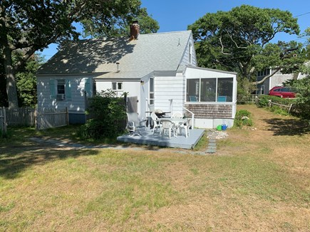 Chatham Cape Cod vacation rental - Back of Cottage and Yard