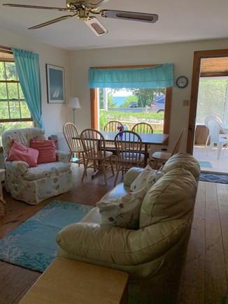 Chatham Cape Cod vacation rental - Living and Dining Room