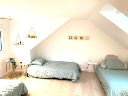Brewster Cape Cod vacation rental - 3 twin size beds in loft upstairs
