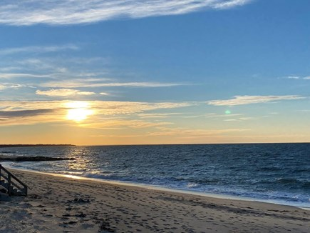 Brewster Cape Cod vacation rental - Private beach with soft sand