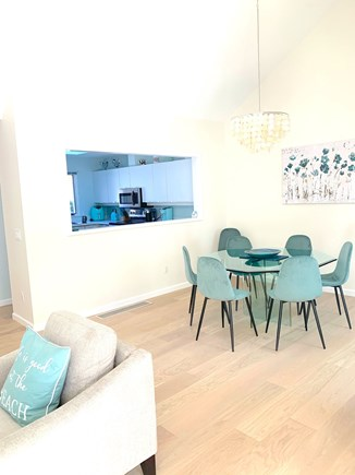 Brewster Cape Cod vacation rental - Open living room and dining area