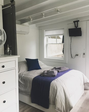 Provincetown Cape Cod vacation rental - Full/double sized mattress with storage drawers underneath